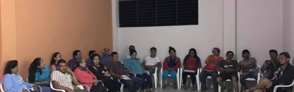 ASAMBLEA CIUDADANA EN YUBIMI PARA PRESUPUESTO PARTICIPATIVO 2020.