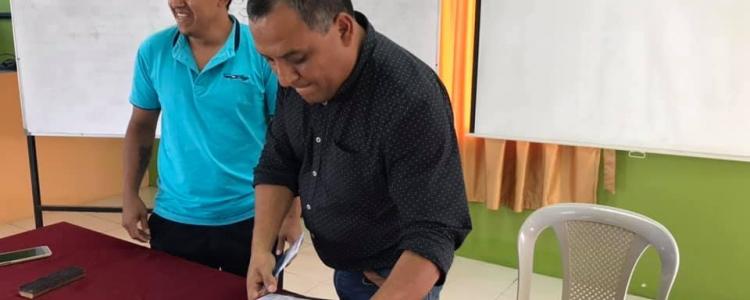 ENTREGA DE PROYECTO DE UNIDADES BÁSICAS CON BIODIGESTOR ANTE LA CTEA.